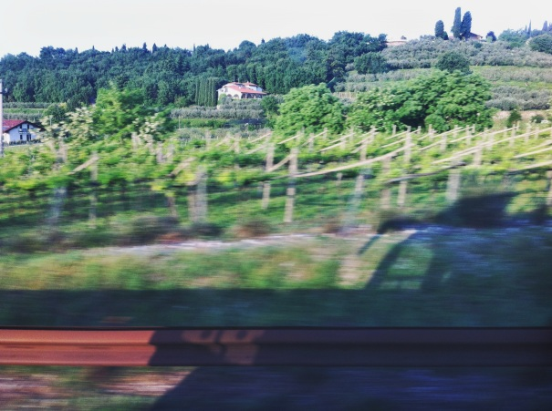 italy countryside bus