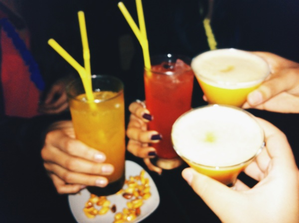 pisco sours chilcanos girls night